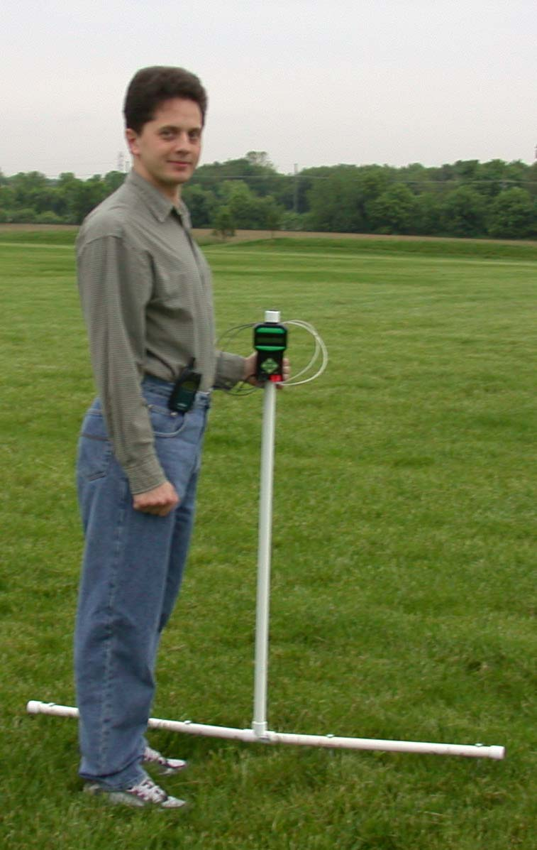typical field setup for soil mapping with landmapper erm-01