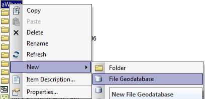 Building geodatabase in ArcMap 10 Desktop | Landviser, LLC